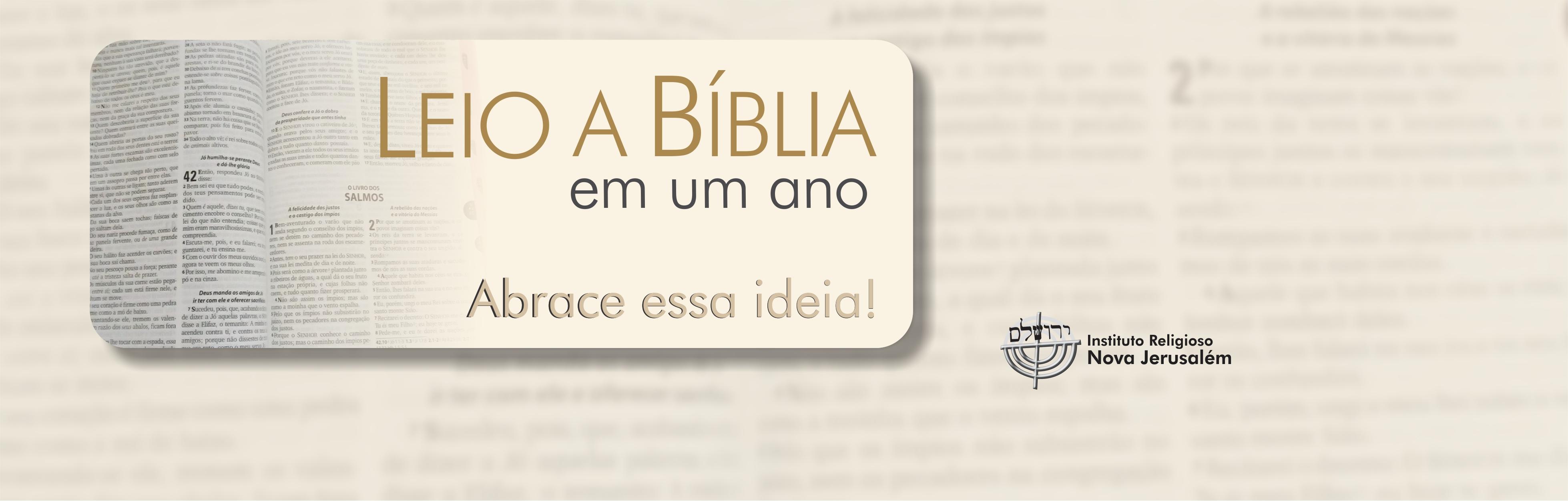 Bíblia em um ano!