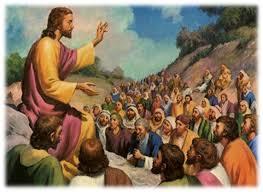 jesus e multidão