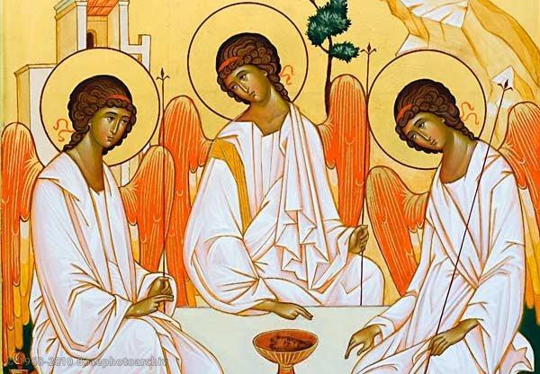 Resultado de imagem para ícone santíssima trindade